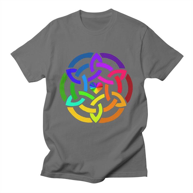 Rainbow Knot Men's T-Shirt by Favorite Character's Shirt Artist Shop
