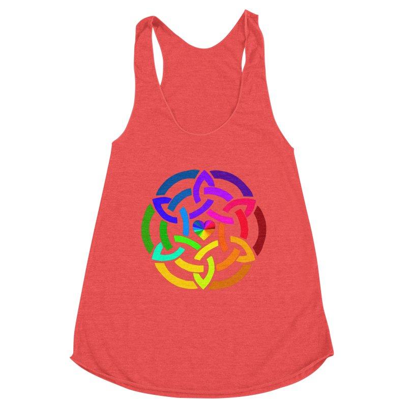 Rainbow Knot Women's Tank by Favorite Character's Shirt Artist Shop