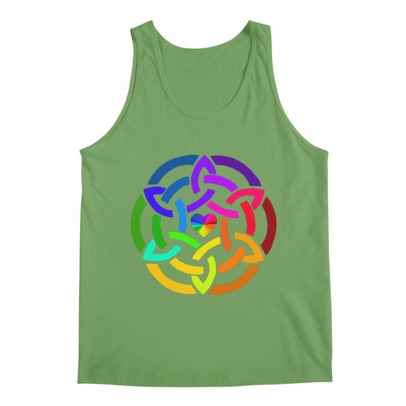 Rainbow Knot Men's Tank by Favorite Character's Shirt Artist Shop