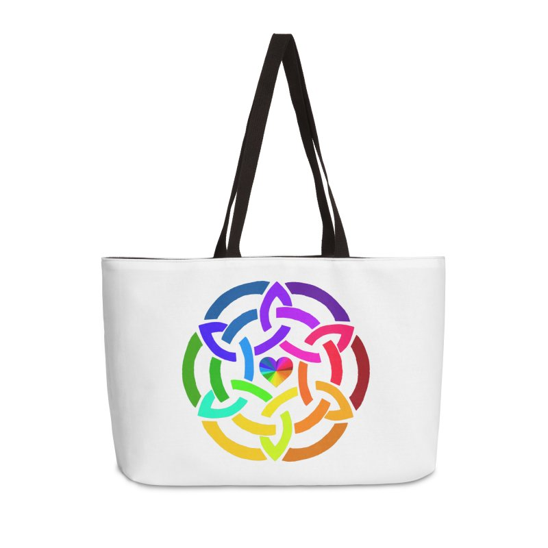 Rainbow Knot Accessories Bag by Favorite Character's Shirt Artist Shop