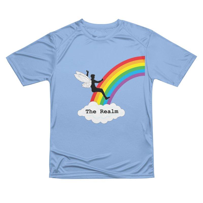 The Realm Employee T-Shirt Men's T-Shirt by Favorite Character's Shirt Artist Shop