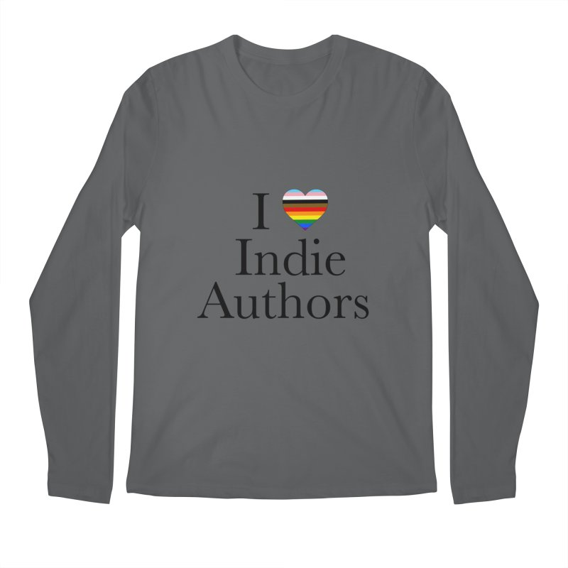 I Love Indie Authors Men's Longsleeve T-Shirt by Favorite Character's Shirt Artist Shop