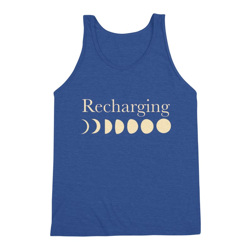 Powered by Moon Men's Tank by Favorite Character's Shirt Artist Shop
