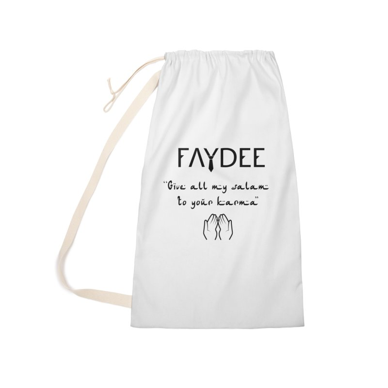 SALAM TO YOUR KARMA Accessories Bag by Faydee Official Merch