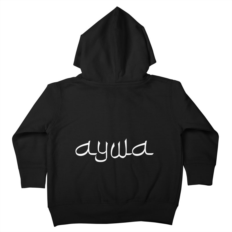 AYWA Kids Toddler Zip-Up Hoody by Faydee Official Merch