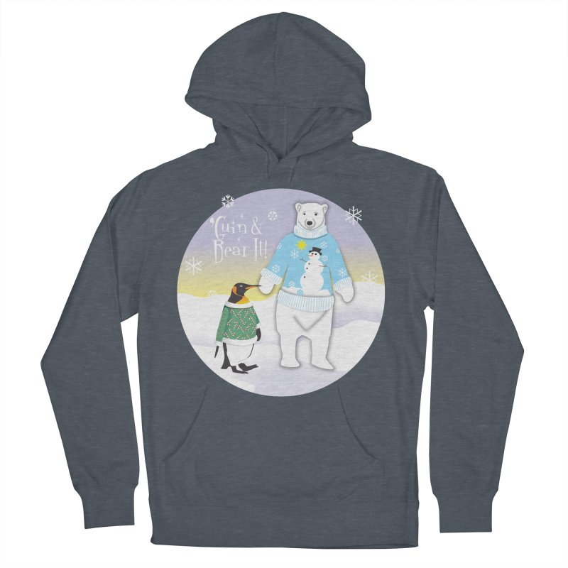 'Guin & Bear It! Women's French Terry Pullover Hoody by FayeKleinDesign's Artist Shop