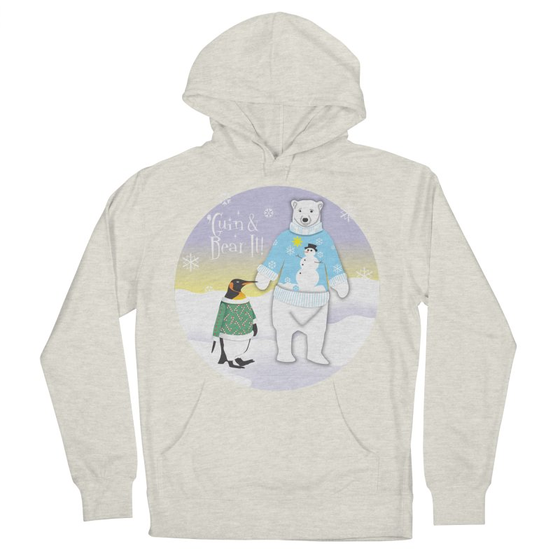 'Guin & Bear It! Men's Pullover Hoody by FayeKleinDesign's Artist Shop