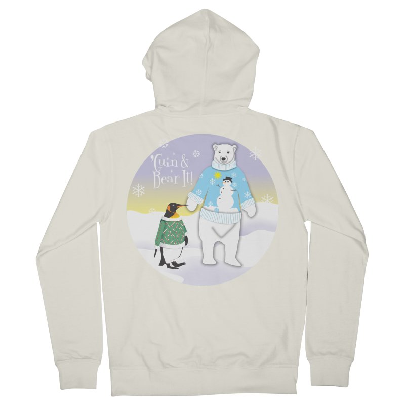'Guin & Bear It! Women's Zip-Up Hoody by FayeKleinDesign's Artist Shop
