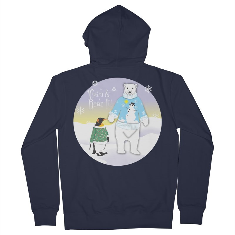'Guin & Bear It! Women's Zip-Up Hoody by FayeKleinDesign's Artist Shop