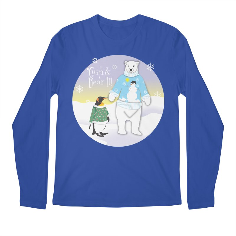 'Guin & Bear It! Men's Longsleeve T-Shirt by FayeKleinDesign's Artist Shop