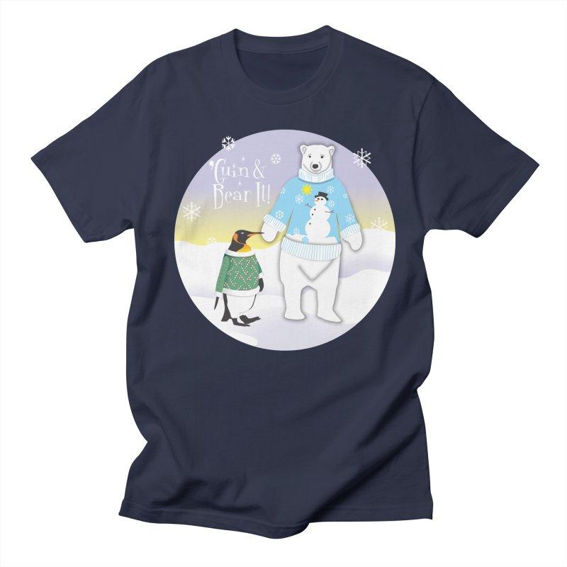 'Guin & Bear It! Men's T-Shirt by FayeKleinDesign's Artist Shop