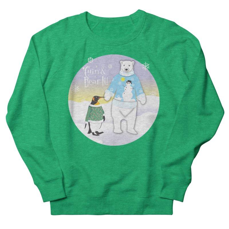 'Guin & Bear It! Women's French Terry Sweatshirt by FayeKleinDesign's Artist Shop