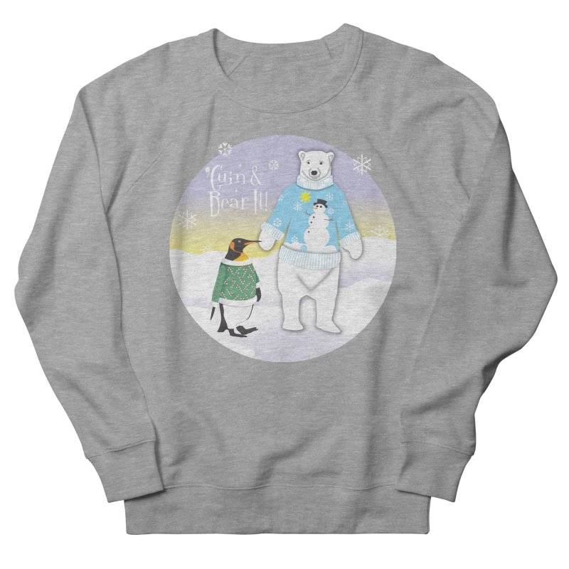 'Guin & Bear It! Men's Sweatshirt by FayeKleinDesign's Artist Shop