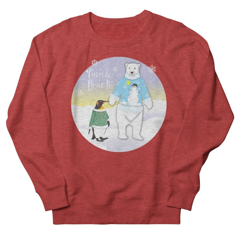'Guin & Bear It! Men's French Terry Sweatshirt by FayeKleinDesign's Artist Shop