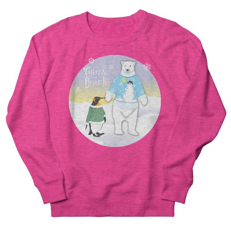 'Guin & Bear It! Men's French Terry Sweatshirt by FayeKleinDesign's Artist Shop