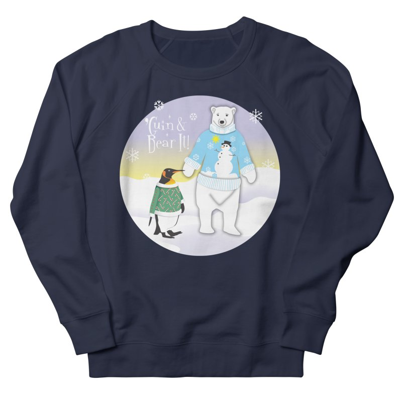 'Guin & Bear It! Men's Sweatshirt by FayeKleinDesign's Artist Shop