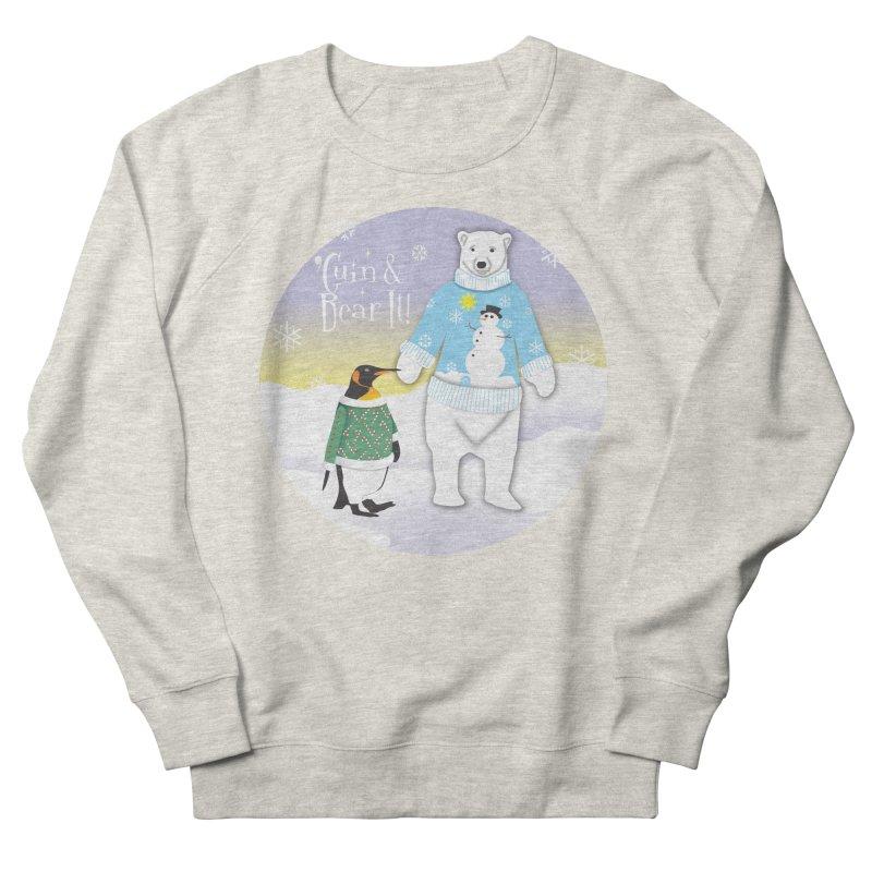 'Guin & Bear It! in Men's Sweatshirt Heather Oatmeal by FayeKleinDesign's Artist Shop