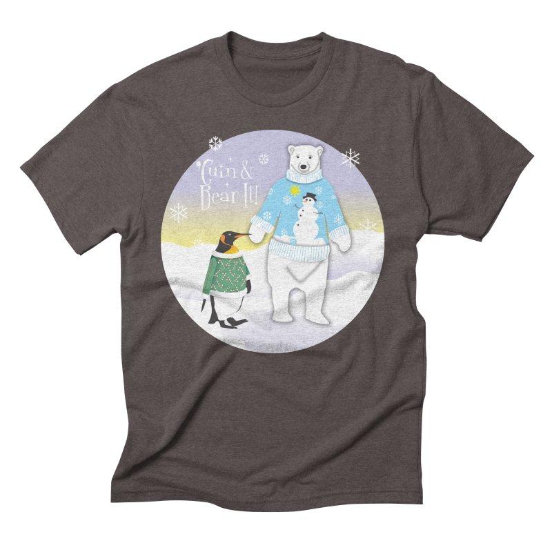 'Guin & Bear It! Men's Triblend T-Shirt by FayeKleinDesign's Artist Shop