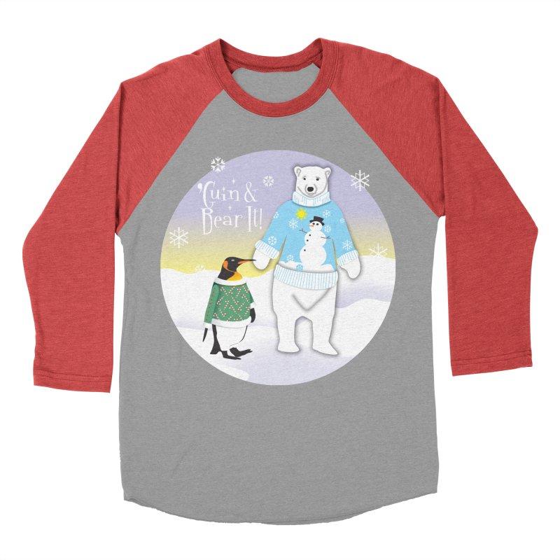'Guin & Bear It! Women's Baseball Triblend Longsleeve T-Shirt by FayeKleinDesign's Artist Shop