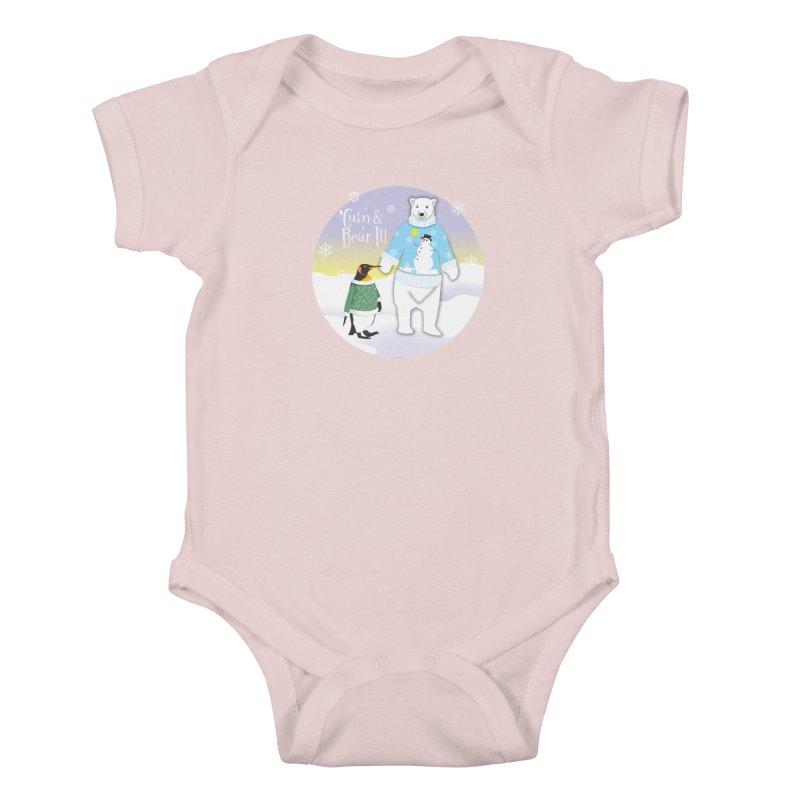 'Guin & Bear It! Kids Baby Bodysuit by FayeKleinDesign's Artist Shop