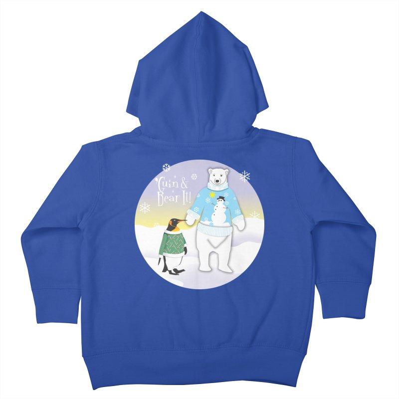 'Guin & Bear It! Kids Toddler Zip-Up Hoody by FayeKleinDesign's Artist Shop