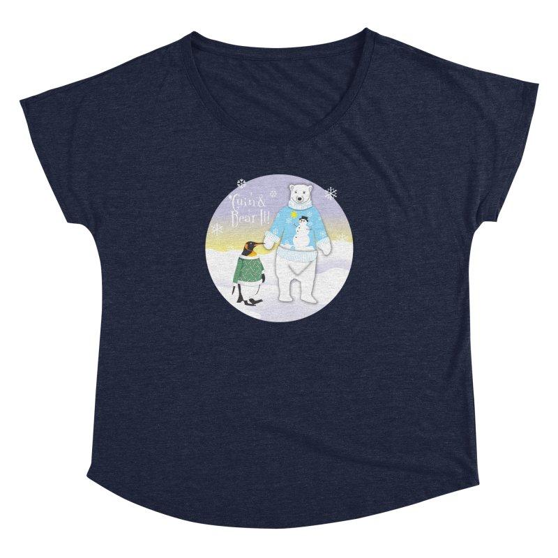 'Guin & Bear It! Women's Dolman Scoop Neck by FayeKleinDesign's Artist Shop
