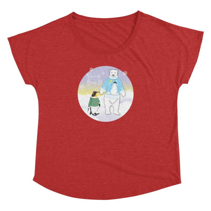 'Guin & Bear It! Women's Dolman Scoop Neck by FayeKleinDesign's Artist Shop