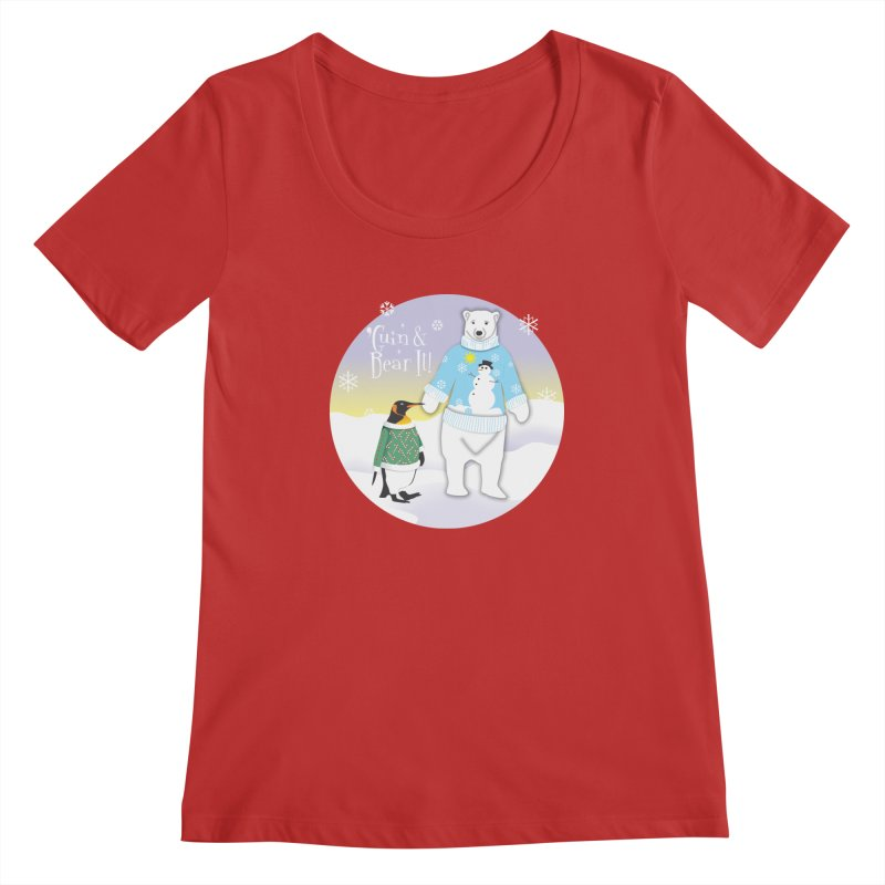 'Guin & Bear It! Women's Regular Scoop Neck by FayeKleinDesign's Artist Shop