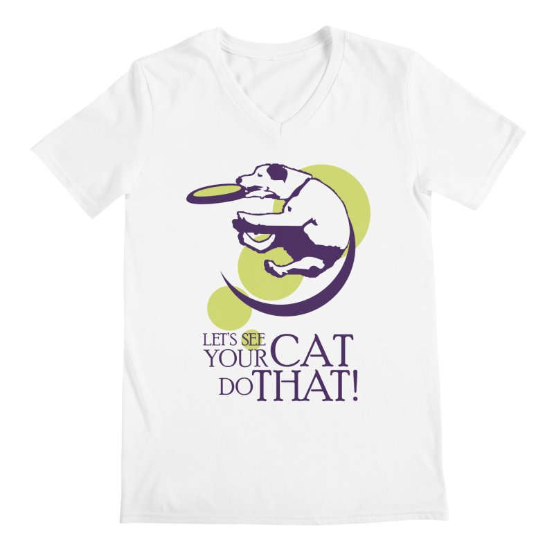 Let's See Your Cat Do That! Men's V-Neck by FayeKleinDesign's Artist Shop