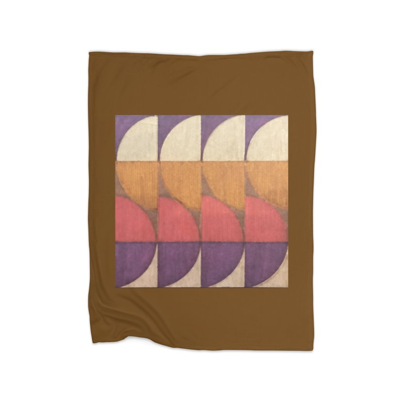 Sliced Home Blanket by FayeKleinDesign's Artist Shop