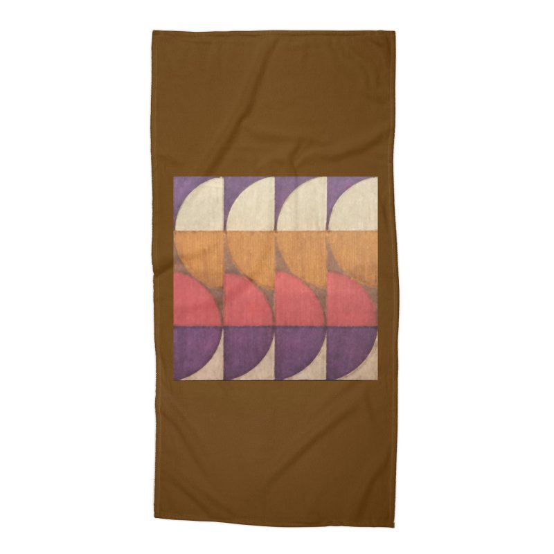 Sliced Accessories Beach Towel by FayeKleinDesign's Artist Shop