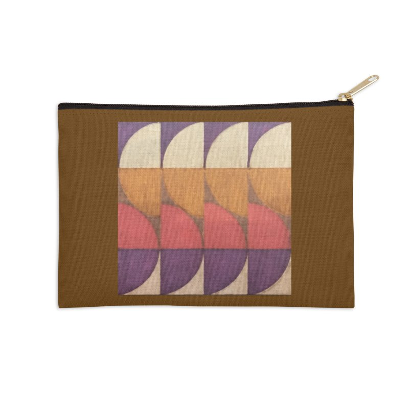 Sliced Accessories Zip Pouch by FayeKleinDesign's Artist Shop