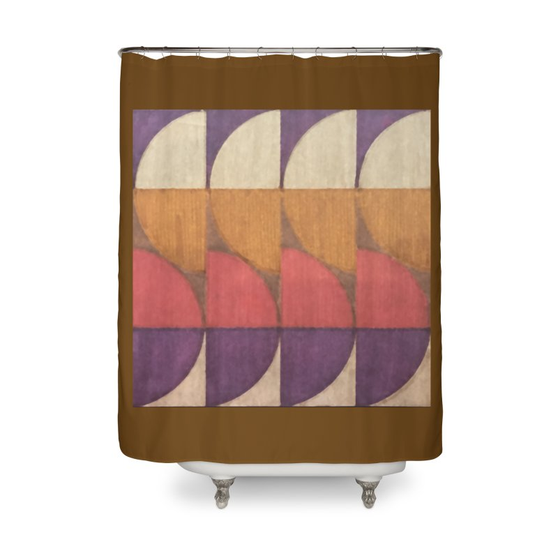 Sliced Home Shower Curtain by FayeKleinDesign's Artist Shop