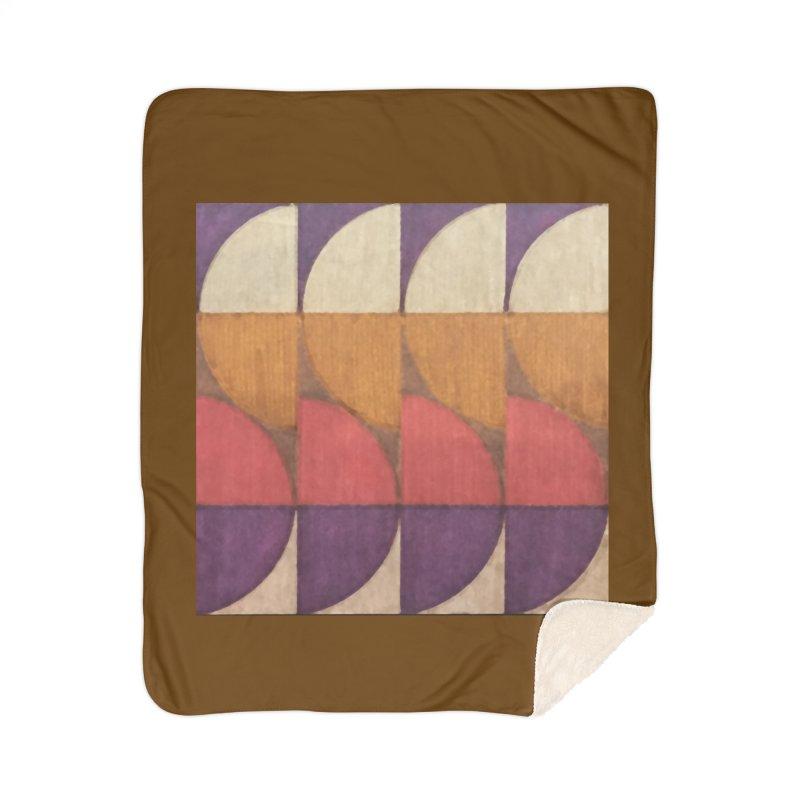 Sliced Home Sherpa Blanket Blanket by FayeKleinDesign's Artist Shop