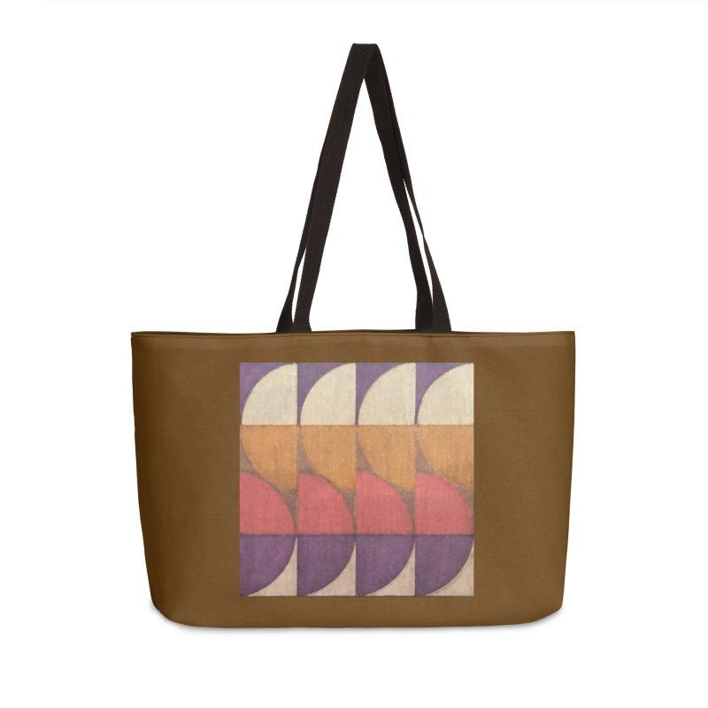 Sliced Accessories Weekender Bag Bag by FayeKleinDesign's Artist Shop