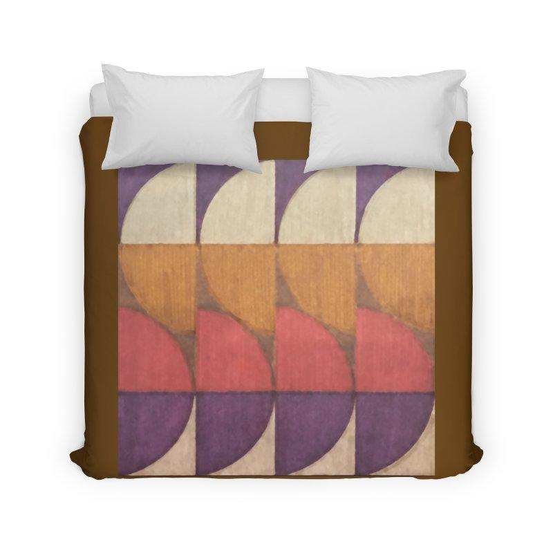 Sliced Home Duvet by FayeKleinDesign's Artist Shop