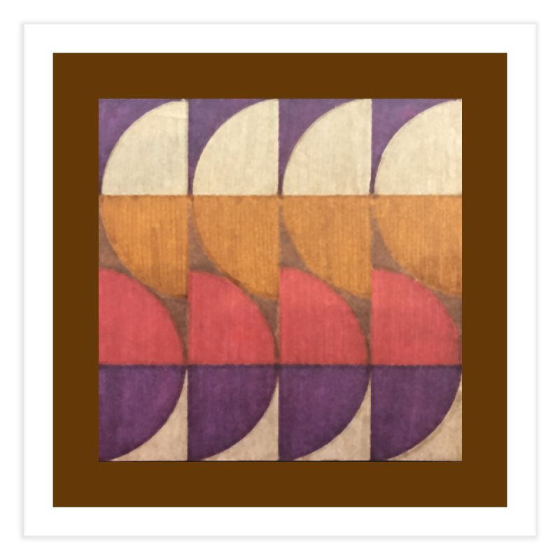Sliced Home Fine Art Print by FayeKleinDesign's Artist Shop