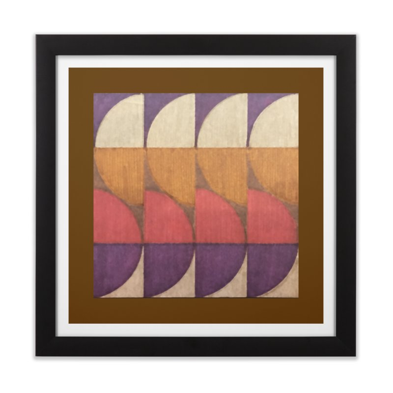 Sliced Home Framed Fine Art Print by FayeKleinDesign's Artist Shop