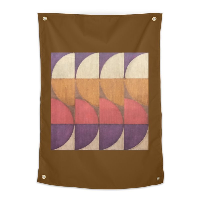 Sliced Home Tapestry by FayeKleinDesign's Artist Shop