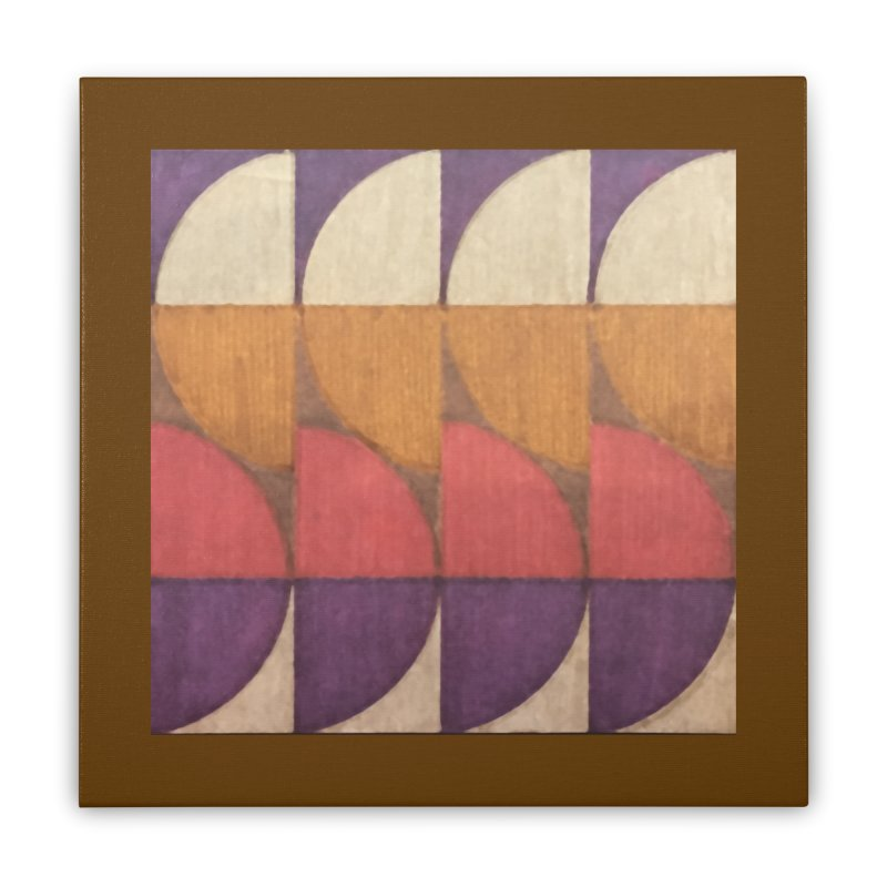 Sliced Home Stretched Canvas by FayeKleinDesign's Artist Shop