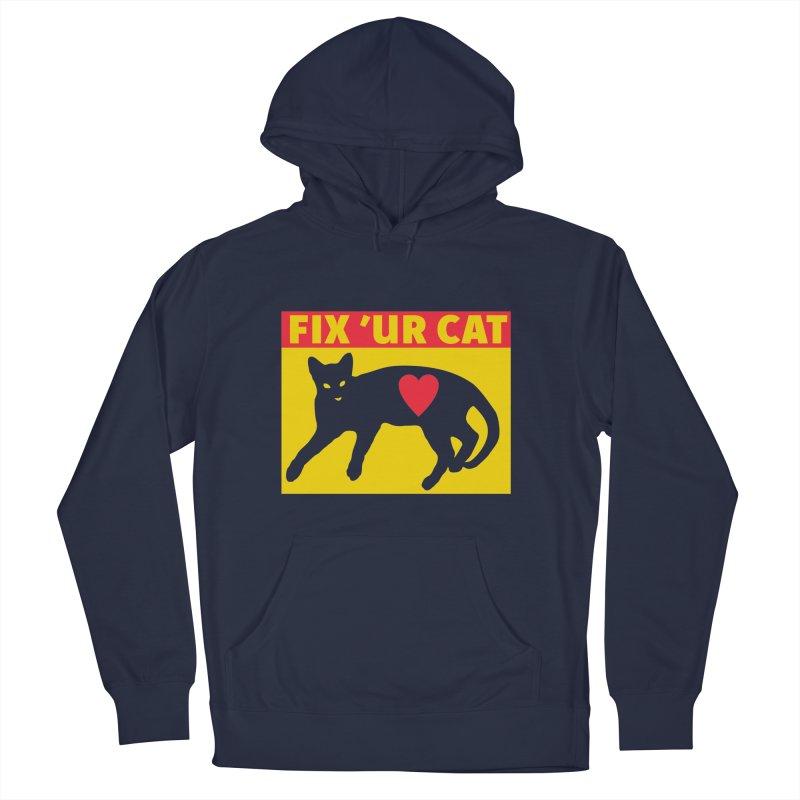 Fix 'Ur Cat Men's Pullover Hoody by FayeKleinDesign's Artist Shop