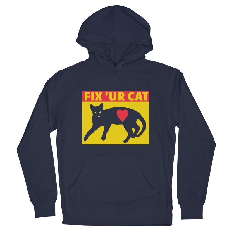 Fix 'Ur Cat Men's Pullover Hoody by FayeKleinDesign's Artist Shop