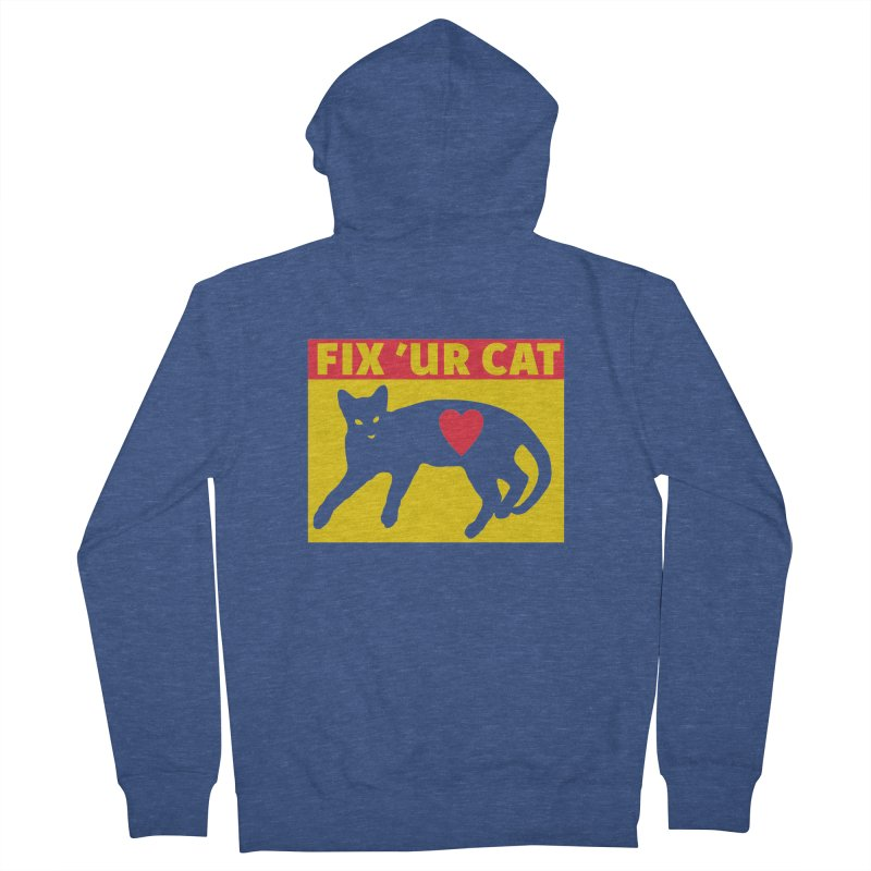 Fix 'Ur Cat Women's Zip-Up Hoody by FayeKleinDesign's Artist Shop