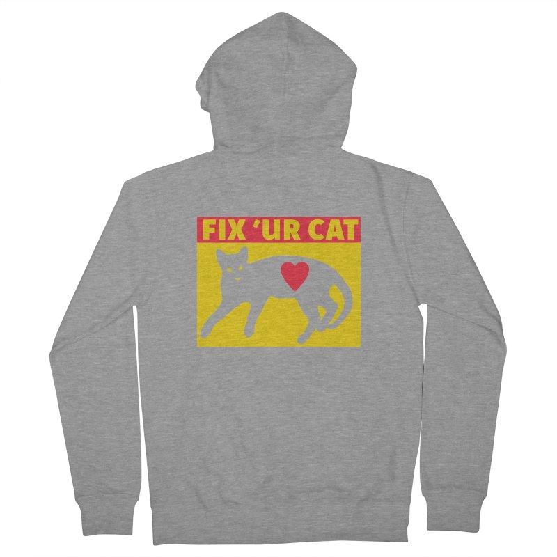 Fix 'Ur Cat Women's Zip-Up Hoody by FayeKleinDesign's Artist Shop