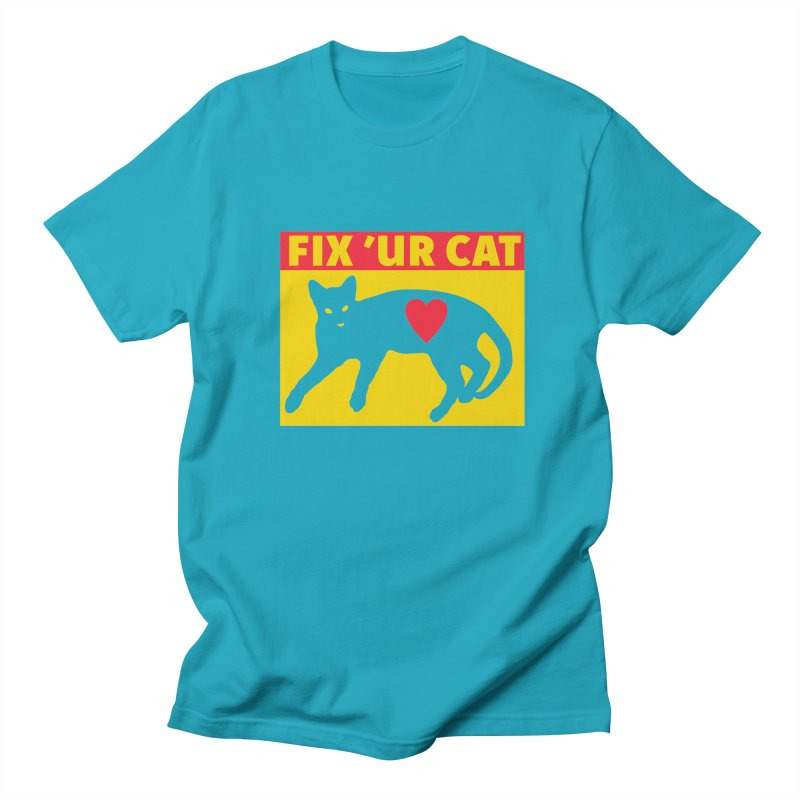 Fix 'Ur Cat Men's T-Shirt by FayeKleinDesign's Artist Shop