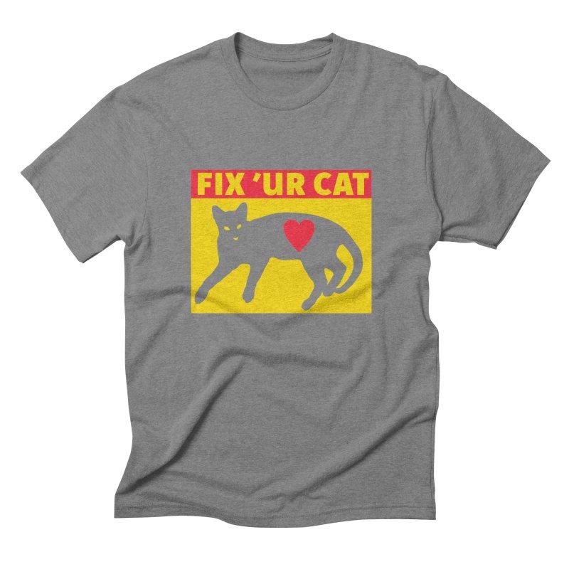 Fix 'Ur Cat Men's  by FayeKleinDesign's Artist Shop