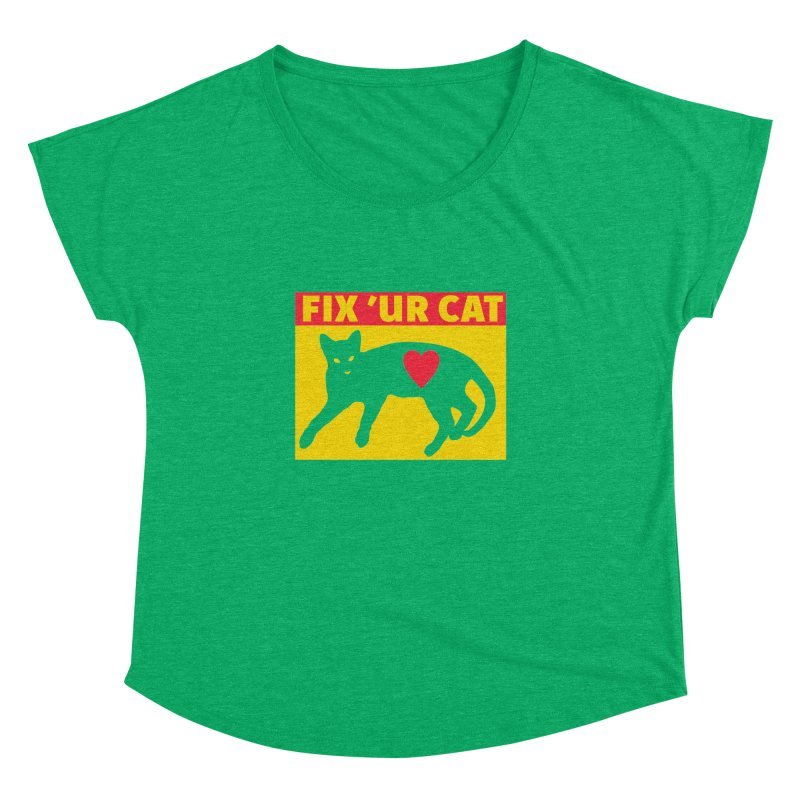 Fix 'Ur Cat Women's Dolman Scoop Neck by FayeKleinDesign's Artist Shop