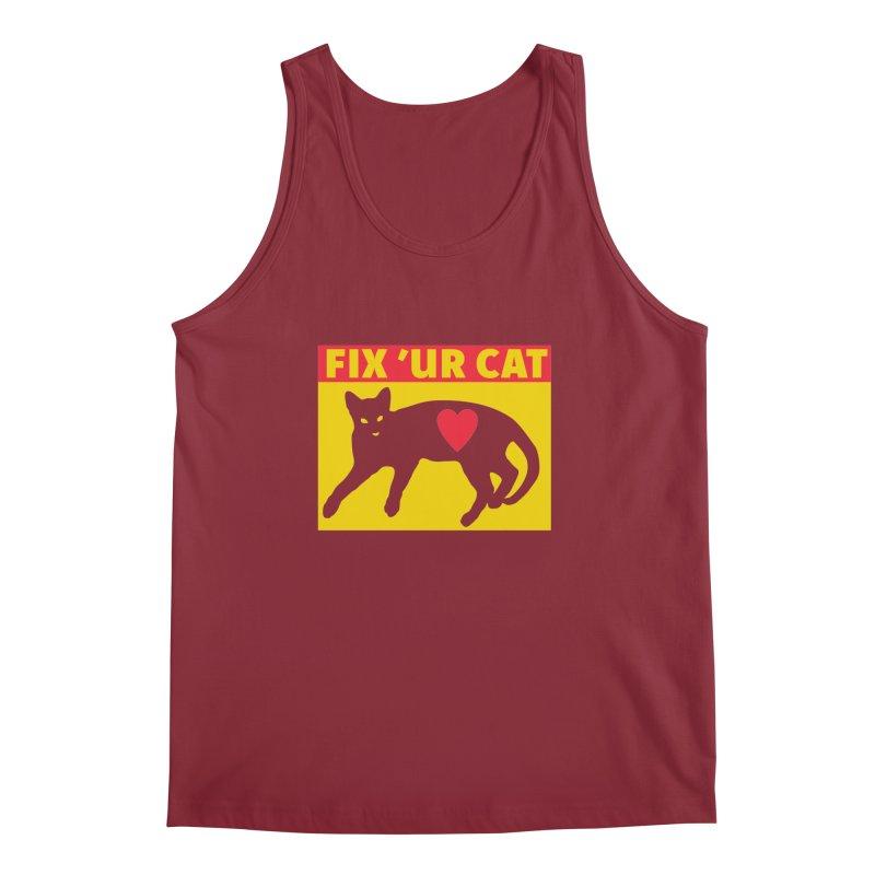 Fix 'Ur Cat Men's Tank by FayeKleinDesign's Artist Shop