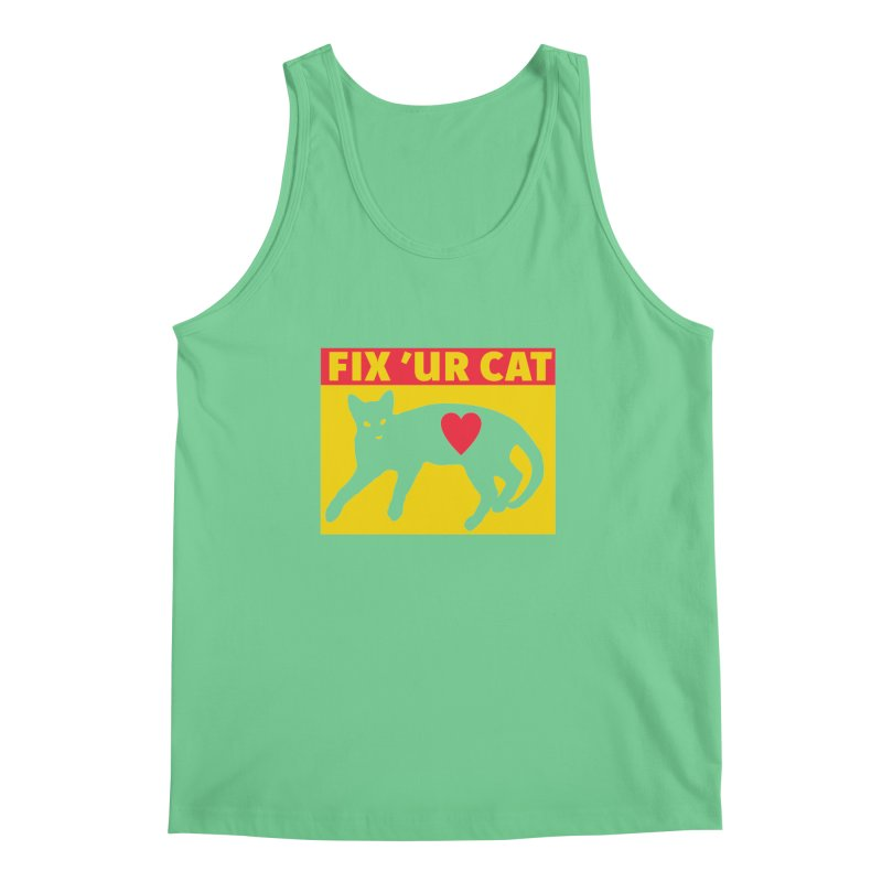 Fix 'Ur Cat Men's Tank by FayeKleinDesign's Artist Shop