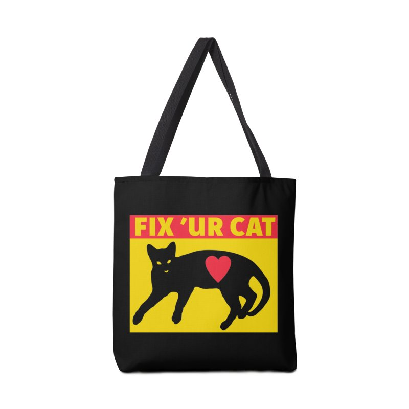 Fix 'Ur Cat Accessories Tote Bag Bag by FayeKleinDesign's Artist Shop